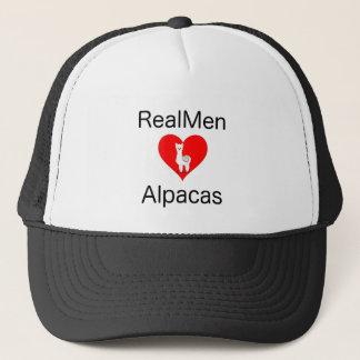 Real men Love Alpacas Trucker Hat