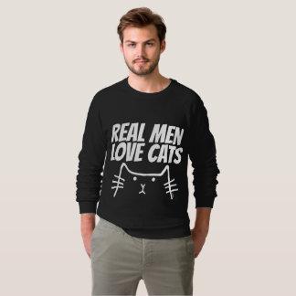 REAL MEN LOVE CATS Cat t-shirts