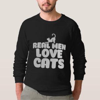 Real Men Love cats Sweatshirt