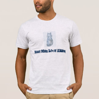 """Real Men Love Kittens"" T-Shirt"