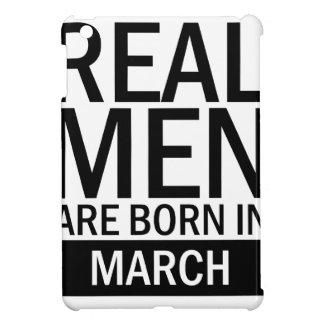 Real Men March iPad Mini Covers