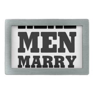 Real Men Marry Nurses Belt Buckle