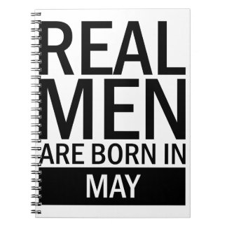 Real Men May Notebooks