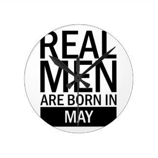 Real Men May Round Clock