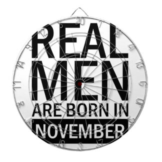 Real Men November Dartboard