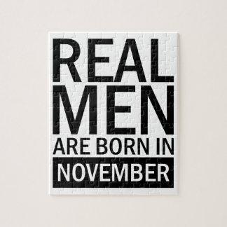 Real Men November Jigsaw Puzzle