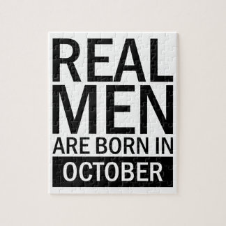 Real Men October Jigsaw Puzzle