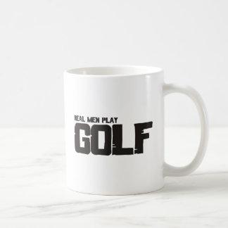 Real Men Play Golf Mugs