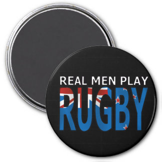 Real Men Play Rugby New Zealand Magnet