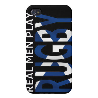 Real Men play Rugby Scotland iPhone 4/4S Case