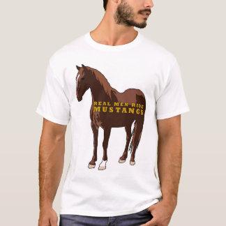 Real Men Ride Mustangs T-Shirt