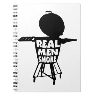 REAL MEN SMOKE NOTEBOOKS