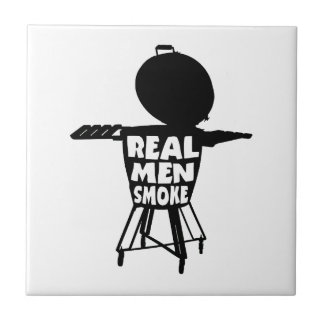 REAL MEN SMOKE TILE