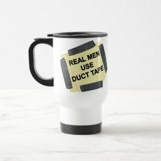 Real Men Use Duct Tape Travel mug, Coffee Mug
