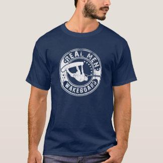 Real Men Wakeboard T-Shirt