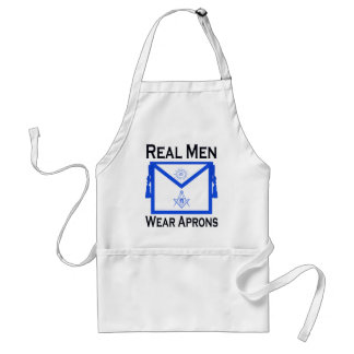 Real Men Wear Aprons - Masonic