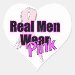 Real Men Wear Pink Sticker