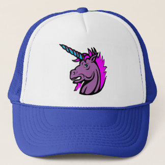 Real men wear unicorn hats. trucker hat