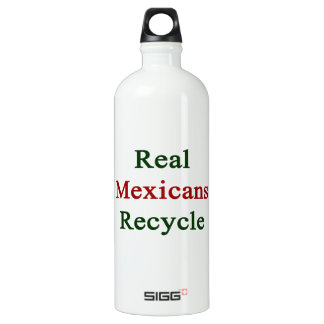 Real Mexicans Recycle SIGG Traveller 1.0L Water Bottle
