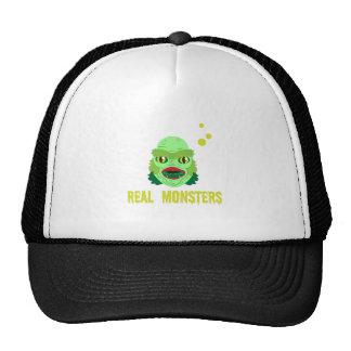 Real Monsters Trucker Hats