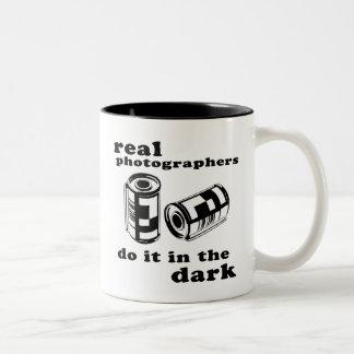 real photographers Two-Tone mug