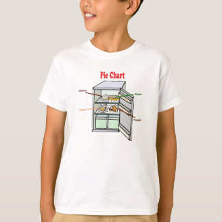 Real Pie Chart T Shirt