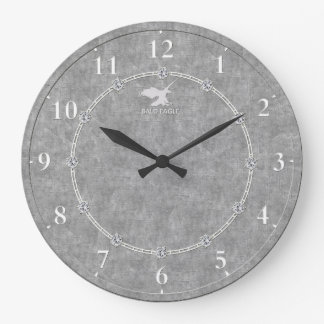 Real Platinum Modern Decorated 3-a Wall Clock Sale