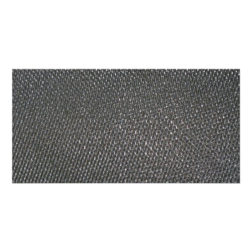 Real RAW Carbon Fiber Textured Personalized Photo Card