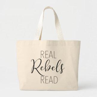 Real Rebels Read Tote Bag