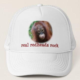 real redheads rock trucker hat