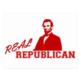 Real Republican, Lincoln Postcard