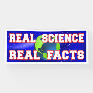 """Real Science Real Facts"" version 2 Banner"