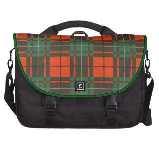 Real Scottish tartan - Macaulay - Drawn by Nekoni Bags For Laptop