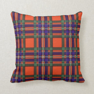 Real Scottish tartan - Macfarlane Cushion