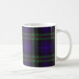 Real Scottish tartan - Mackinlay Coffee Mug