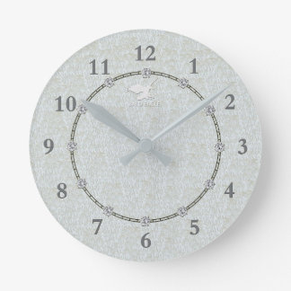 Real Silver Modern Decorated 1a Wall Clock Sale