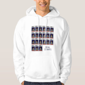 Real Stamps at Zazzle.com - Invalides Hoodie