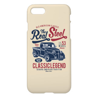 Real Steel Glossy Phone Case