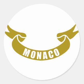real-tape-Monaco Stickers