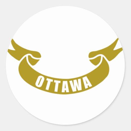 real-tape-Ottawa Stickers