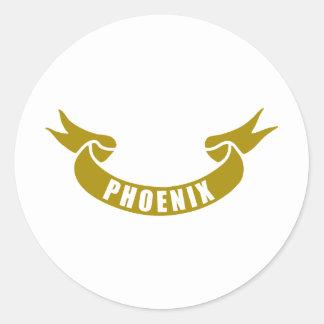 real-tape-Phoenix Stickers