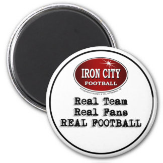 Real Team, Real Fans, Real Football Pittsburgh Magnet
