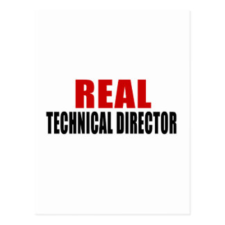 REAL TECHNICAL DIRECTOR POSTCARD