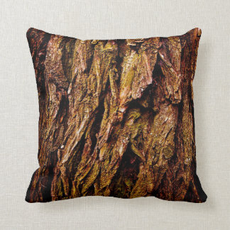 Real Tree Bark Cushion