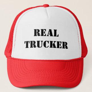 REAL TRUCKER TRUCKER HAT
