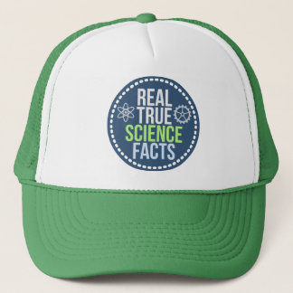 Real True Science Facts Hat (green)
