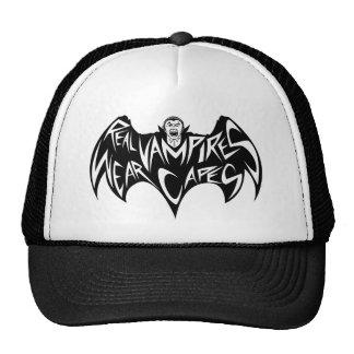 Real Vampires Wear Capes Dracula Cap