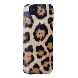 Real Wild Leopard Cat Print Custom Blackberry Case