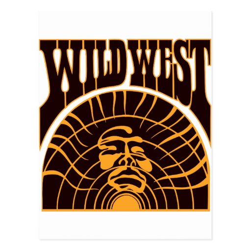 Real Wild West Indian Style Postcards