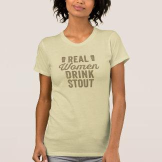 Real Women Drink Stout T-shirt